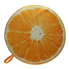 Novelty Soft Round Fruit Pillow Plush Dining Cushion Chair Seat Pad Home Office