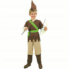 #CHILD ROBIN HOOD #BOOK WEEK FANCY DRESS MEDIEVAL COMPLETE OUTFIT ALL SIZES