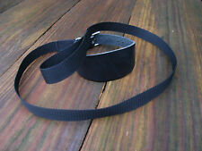 Leather Dog Collar Lurcher/Greyhound/Whippet Webbing Lead Lamping/Coursing
