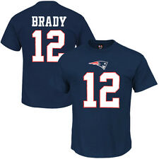 Tom Brady New England Patriots NFL Player Number T-Shirt – Navy Blue