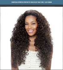 LAS FABAN - VANESSA SYNTHETIC SUPER EXPRESS WEAVE HALF WIG LONG CURLY