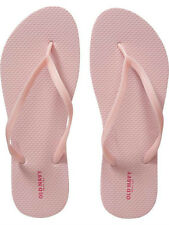 NWT Ladies FLIP FLOPS Old Navy Thong Sandals PALE PINK Shoes SIZE 7,8,9,10,11