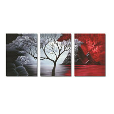 Abstract Canvas Print Painting Picture Wall Art Home Decor Tree Poster(No Frame)