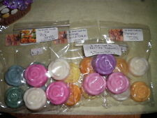 Wickless Wax Tarts 2 oz Roses 100% Soy Wax  ~ Free Shipping