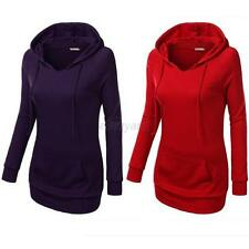Women Hoodie Hoody Casual Sweatshirt Tops Coat Jacket Loose Lady Outerwear S-XL