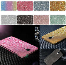 Full Body Shinning Glitter Sticker Decal Matte Protector Case For Samsung Galaxy