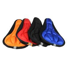 Cycling Bike 3D Upscale Silicone Gel Pad Seat Saddle Cover Ultra Soft Cushion