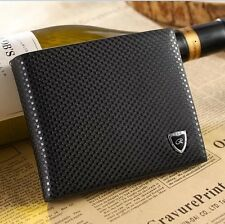 New Men Leather Wallet Bifold Credit Card Holder Brand Purse Money Clip Wallets