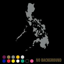 Filipino Pinoy Philippine Map Decal for Laptop, Cars, iPad, iPhone, Wall