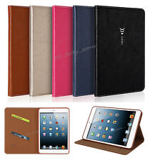 Luxury Magnetic Flip Card Leather Cover Case For Apple iPad Air mini 2 3 4 Pro
