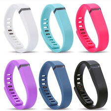 Large Small Replacement Wrist Band w/h Clasp For Fitbit Flex Bracelet No Tracker