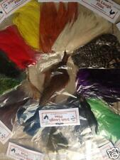 HEN NECK CAPES 9  COLOURS TO CHOOSE FROM - CHEAPEST ON EBAY - FLY TYING FEATHERS