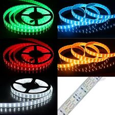 5M Double Row RGB 5050/3528 600 LED Cool/Warm White Waterproof Strip Light DC12V