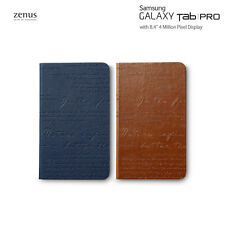 Zenus Lettering Leather Diary Cover Case Skin for Samsung Galaxy Tab Pro 8.4