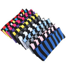 11 Color Women School Over The Knee Socks Cozy Striped Thigh High Long Stocking