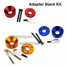 Pocket Bike Air Filter Adapter Stack Kit For 23 33 43 49 cc Gas Scooter Cat Eye