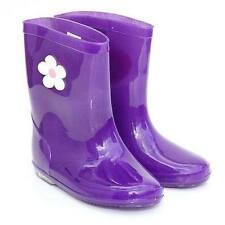 BABIES/INFANTS/KIDS/GIRLS PURPLE OR PINK FLOWER WELLIES SIZES 10,11,12s left!