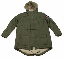 Lambretta Mens Parka Carnaby Scooter MOD Parka Original Jacket Coat