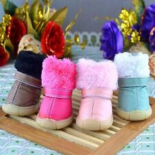 4PCS Pet Dog Puppy Soft Booties Shoes Anti-slip Waterproof Boots Shoes Clothes