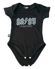 Darkside Baby ACDC Rock Onesie Romper Alternative Tattoo Rockabilly Cute Gift
