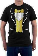 Gold Fancy Tuxedo Printed Suit & Tie T-Shirt Gift Idea