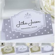Personalised Boutique Wedding Place Name / Setting / Table / Meal Cards