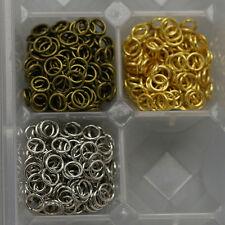200-500pc 6mm High quality Open Jump Rings Split Rings Jewelry connectors Making