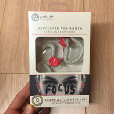 Yurbuds Focus Womens Sports Earbuds Earphones Sports Running Earphones NEW