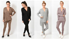 NEW WOMENS LONG SLEEVES JUMPER SWEATSHIRT JOGGER LOUNGEWEAR LADIES TRACKSUIT SET