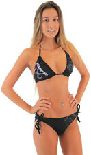 Juniors American Crime Drama TV Show Sons of Anarchy Reaper Logo Black Bikini