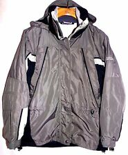 COLUMBIA WOMENS FIRE RIDGE 3 IN 1 HOODED FLEECE LINER COAT SIZE-SMALL