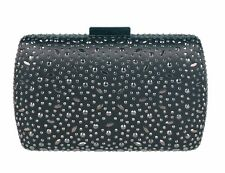 Chicastic Rhinestone Crystal Hard Box Mini Wedding Evening  Clutch Purse