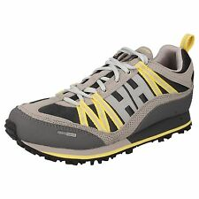 LADIES HELLY HANSEN GREY YELLOW RUNNING SHOE/TRAINER UK 3.5 STYLE TRAIL CUTTER 4