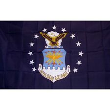 United States Air Force Flag 3ft x 5ft Classic Banner FREE SHIPPING MADE IN USA