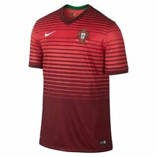 NEW NIKE Men Portugal Home Football Soccer Jersey Shirt Red $90