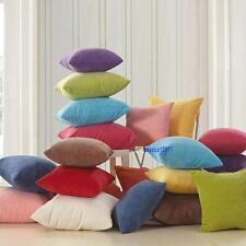 Color Corn kernels Corduroy Sofa Decor throw Pillow Case Cushion Cover Square DA