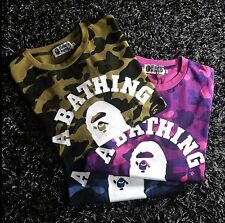 Ck_abc Men's New Arrival Bape Camo Ape Icon Round Neck Tee Shirt Classical