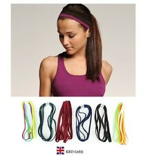4 x Snag Free Elastic Head Bands Hairbands Ladies Girls School Gym Sports Hair