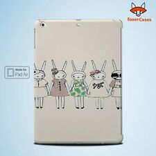 Fashion Bunny Rabbits Case Cover for iPad
