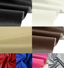 FAUX LEATHER Leatherette Leather cloth Upholstery Fabric Material IN 8 COLOURS