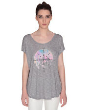 Volcom Got Your Back Ladies T-Shirt in Grey