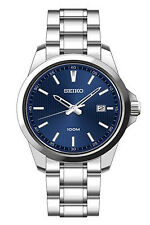Seiko Mens Neo Classic Blue Dial Watch SUR153P1 £159