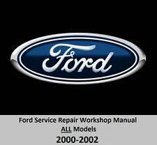 Ford ALL Models 2000-2002 Service Repair Workshop Manual on DVD.... (Fits: Mercury Villager)