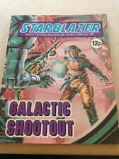 GALACTIC SHOOTOUT - Starblazer Comic Issue 25