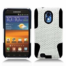 APEX Armor Hybrid Hard Case Gel Cover For Samsung Galaxy S2 (Epic 4G Touch D710)