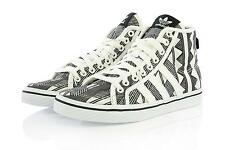 Womens Adidas Originals Honey Mid W Mexkumerex Trainers White Black UK 3.5 - 7
