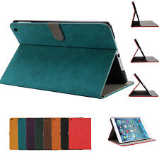 Classic Pu Leather Smart Cover Case for Apple iPad Air 2 1