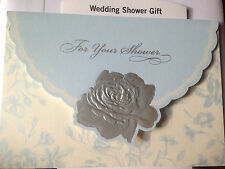 WEDDING SHOWER  MONEY/GIFT CARD HALLMARK GREETING CARDS   9 to Choose  From