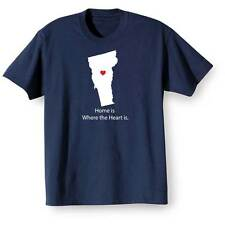 Home Is Where The Heart Is T-Shirt - Vermont