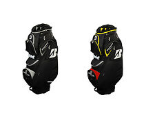 BRIDGESTONE GOLF CART BAG - BLACK/YELLOW/RED OR BLACK